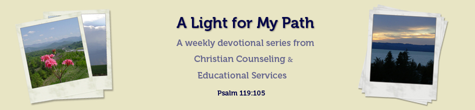 A Light for My Path Devotional