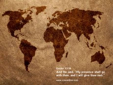 Christian Wallpaper - Exodus 33:14